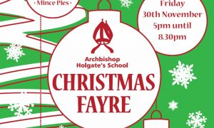 Christmas Fayre – Friday 30 November